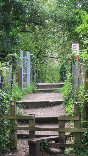 Chandler's Ford sutherlands way railway line-3