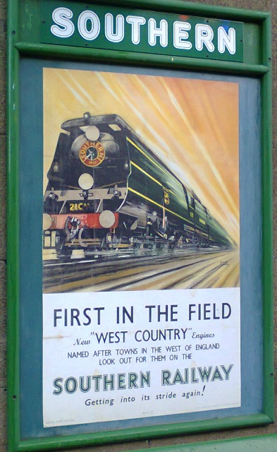 Another example of railway poster artwork