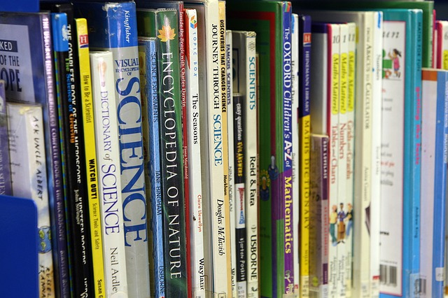 Reference books on all subjects can help you build fictional worlds and characters - image via Pixabay