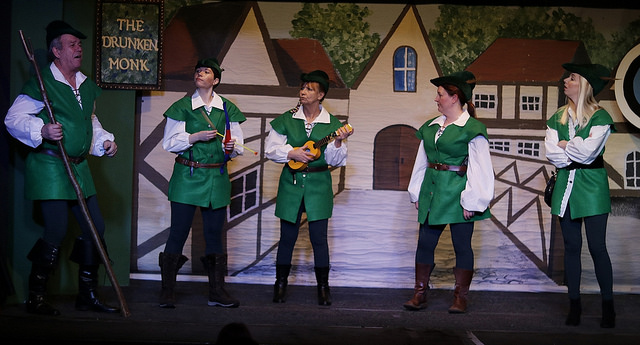At this stage of the panto, the not so Merry Men - via Chameleons