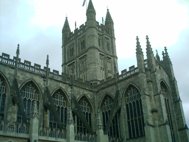 Bath Abbey, a place Jane would have known well, image by Allison Symes