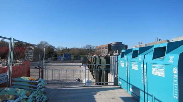 Eastleigh household waste recycling centre