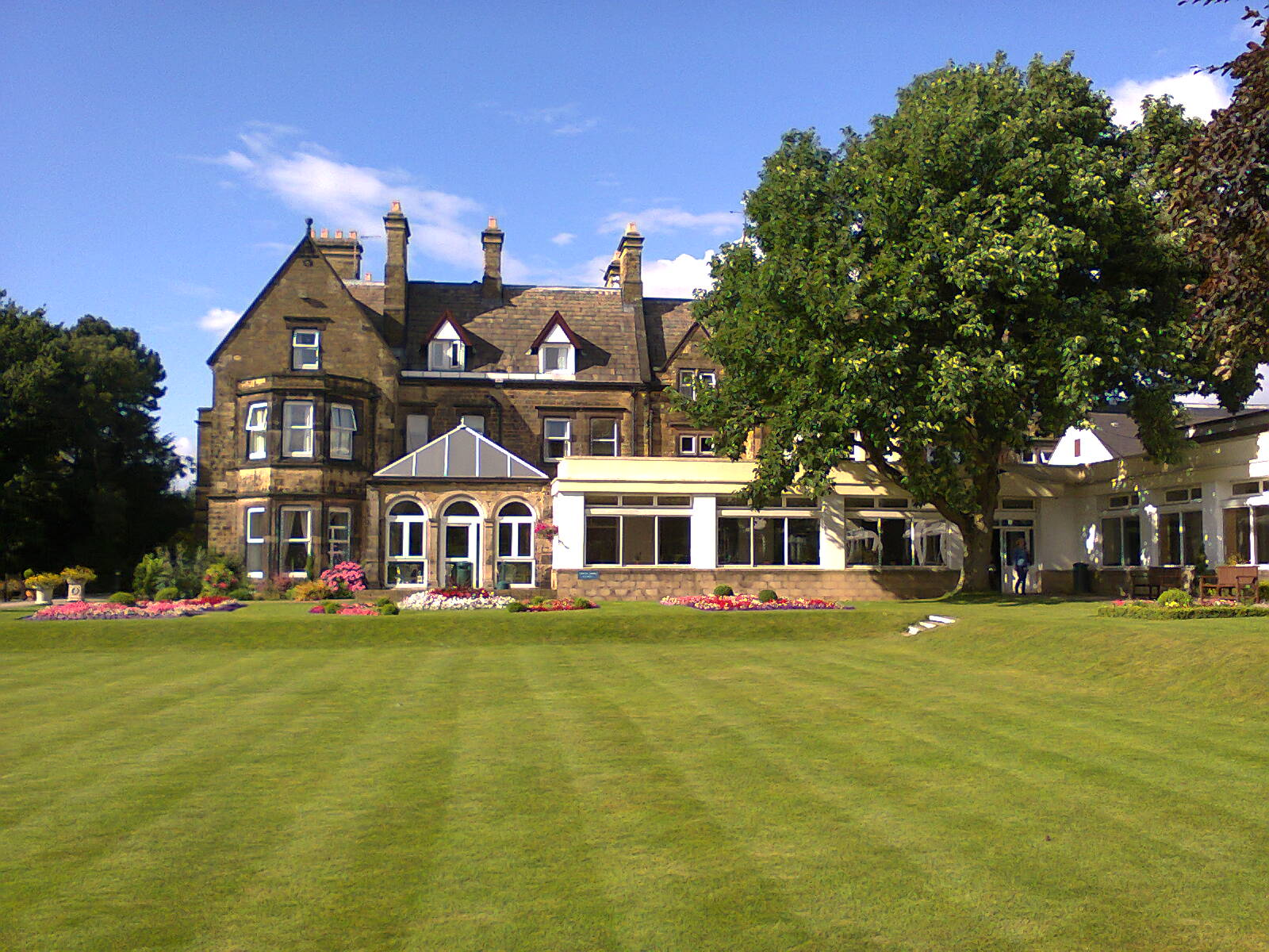 The Hayes Conference Centre, Derbyshire - home to the Swanwick Summer Writers' School. Image by Allison Symes