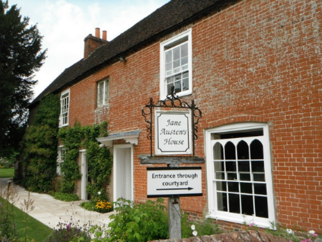 Jane Austen's House at Chawton - image via Flickr by Kevin Oliver