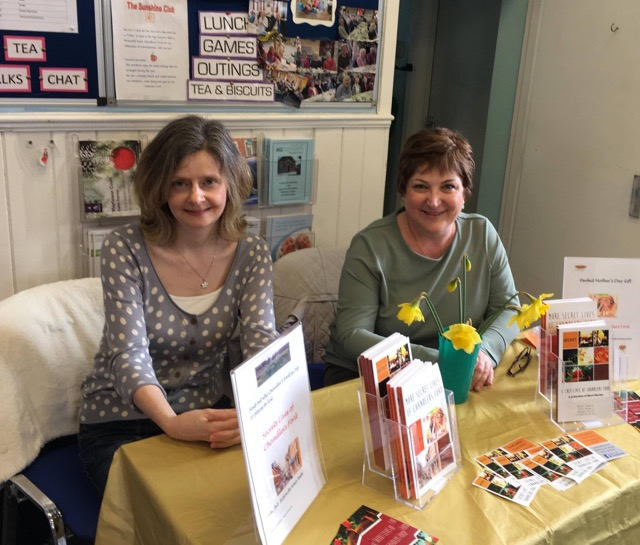 Two of the authors, Sally Howard and Karen Stephen. Image credit: Karen Stephen.