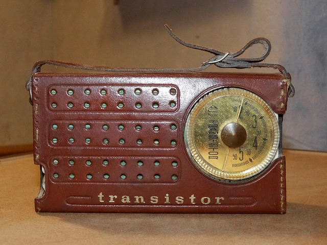 The classic transistor radio - image via Pixabay