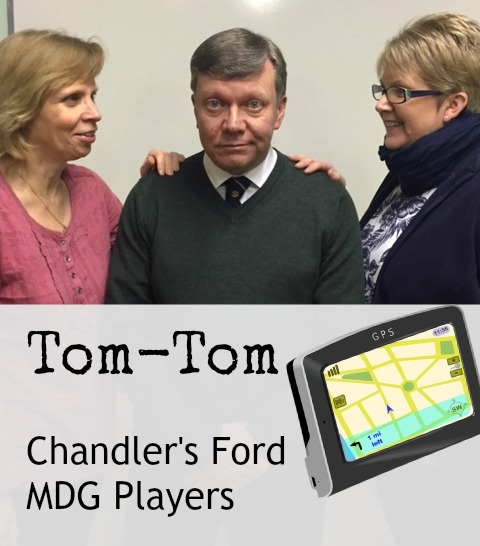 Tom-Tom cast - Chandler's Ford MDG Players, March 2017.