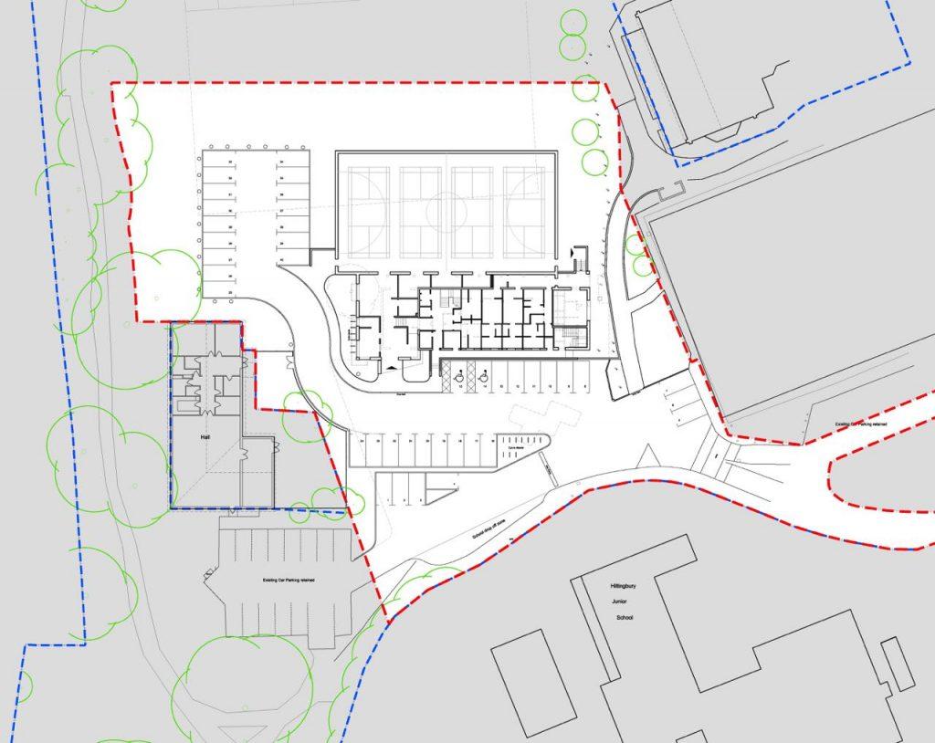 TKLA Hiltingbury Pavilion Proposed Site Plan - Chandle's Ford Parish Council image