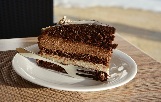 Cake - image via Pixabay
