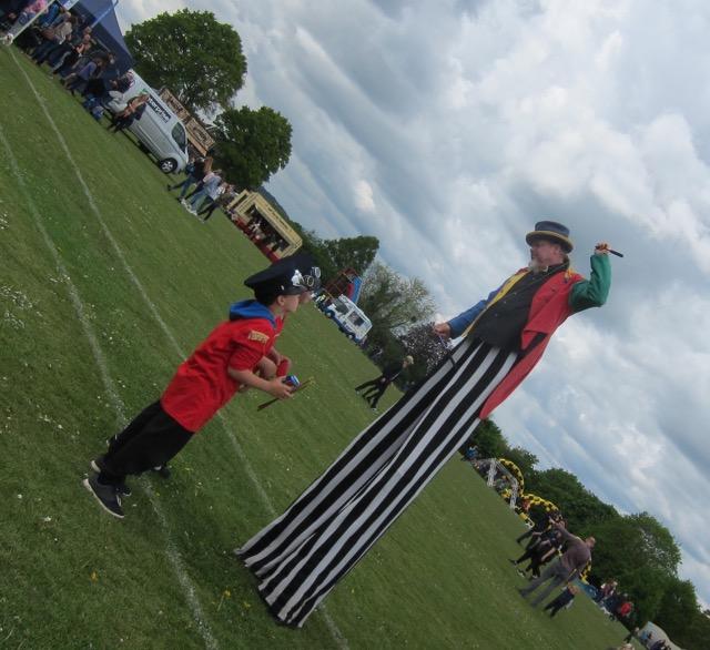 Wessex circus team
