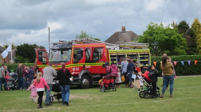 Fire engine - always popular at Fryern Funtasia.
