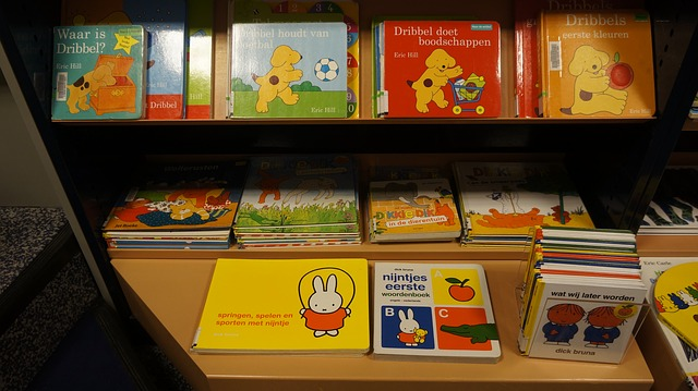 Children's picture books with less text often translate well - image via Pixabay