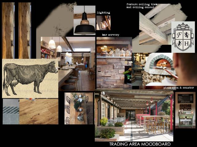 Hiltonbury Farmhouse moodboard May 2017
