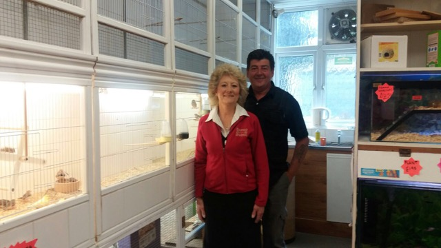 Janet and Fred Nightingale Pets Eastleigh