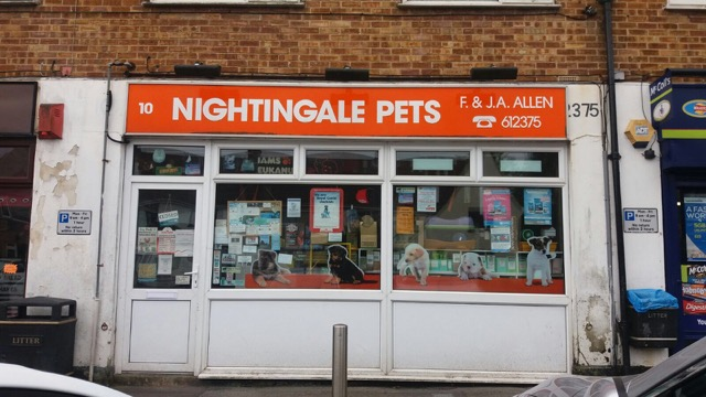 Nightingale Pets Eastleigh SO50 closure