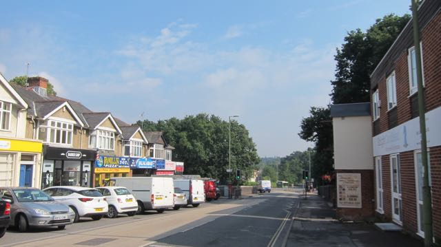 Bournemouth Road in SO53, Chandler's Ford.
