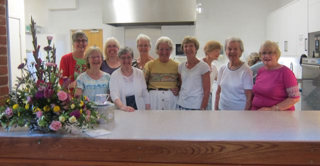 Some of Jane's team of helpers throughout the past 37 years.