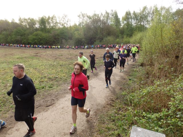 parkrun at Conkers