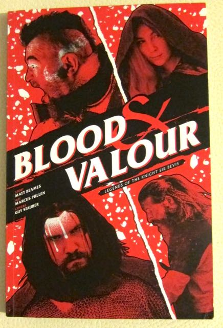 Blood and Valour front cover