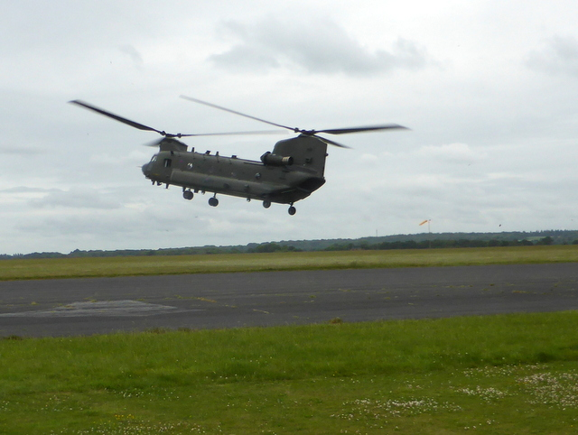 Chinook at Odiham
