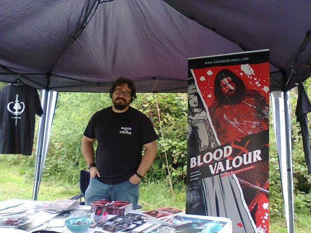 Matt Beames of Blood and Valour fame
