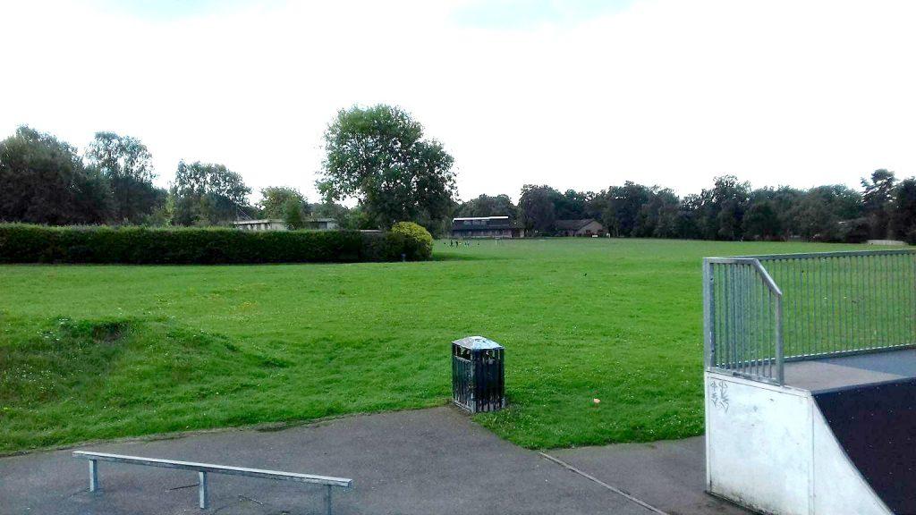 Hiltingbury ground. Image by Dave Oakley.