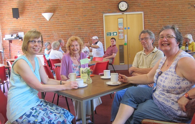 The Coffee Room is a friendly place for the community.