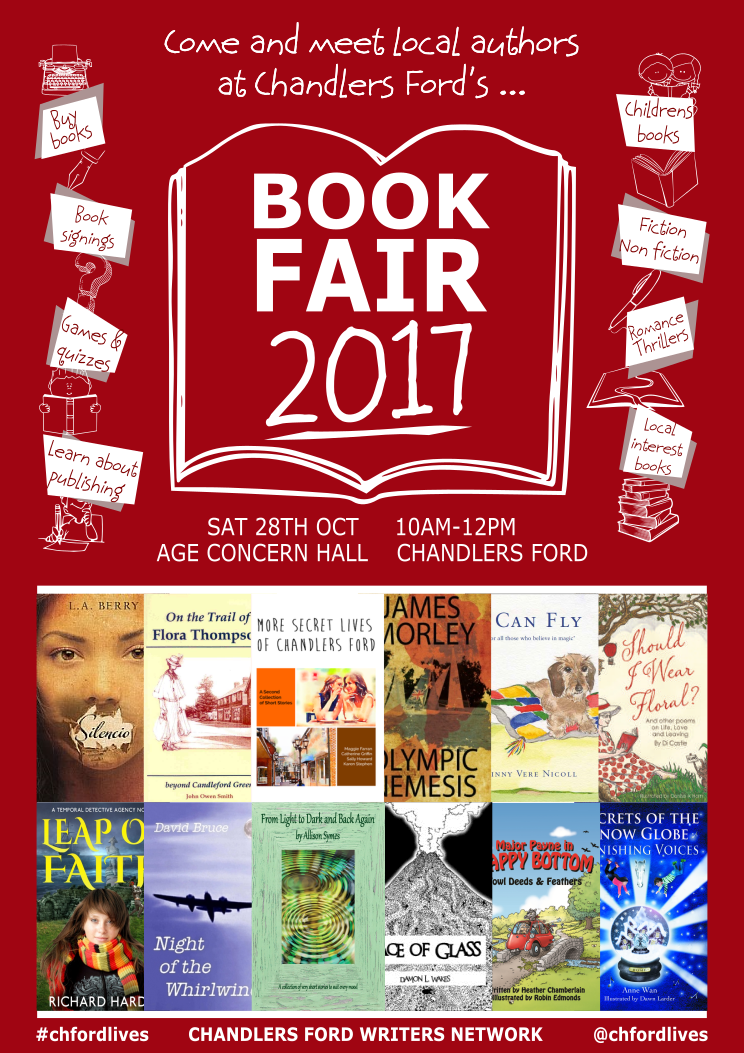 Book Fair Poster - image supplied by Karen Stephen and Catherine Griffin