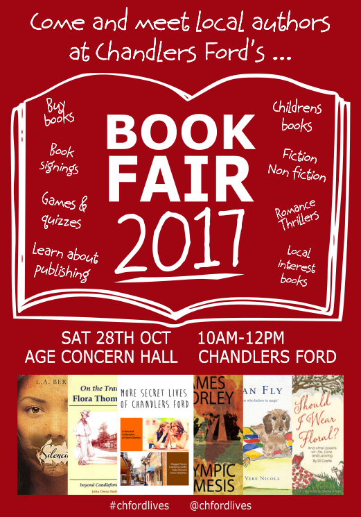 Book Fair Flyer - image supplied by Karen Stephen and Catherine Griffin