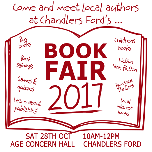 Book Fair Flyer in A5 form - image supplied by Karen Stephen and Catherine Griffin