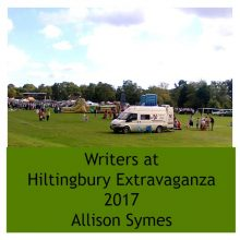 Feature Image - Writers at Hiltingbury Extravaganza 2017. Image by Allison Symes