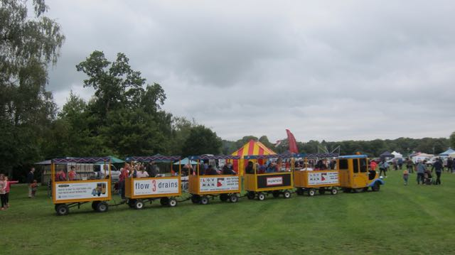 Hiltingbury Extravaganza 17 Sep 2017 trains