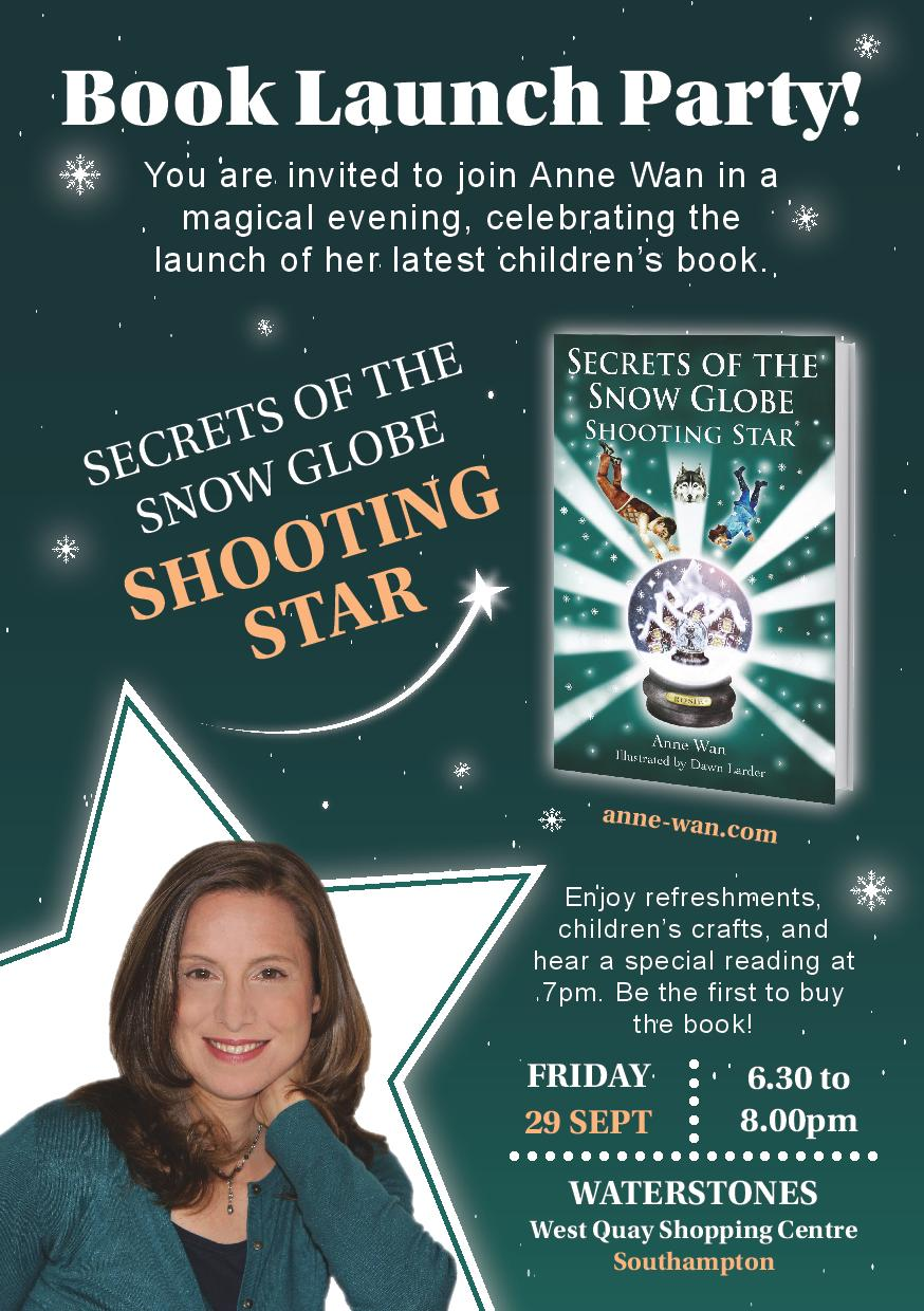 Shooting Star Book Launch. Image supplied by Anne Wan.