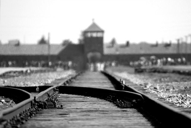 The concentration camp - image via Pixabay