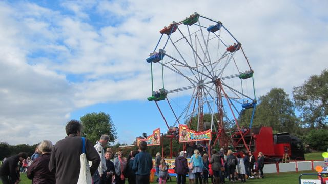 The wheel at Hiltingbury Extravaganza 17 Sep 2017