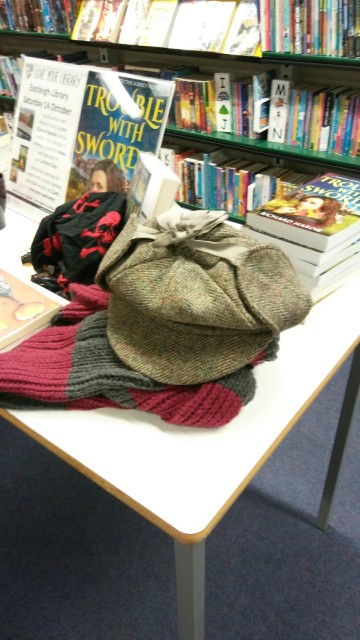 Eastleigh Library - the Sherlock hat