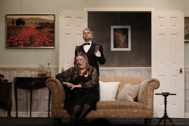 Bunting the Butler (Stuart Weinberg) and Mildred (Liz Strevens)