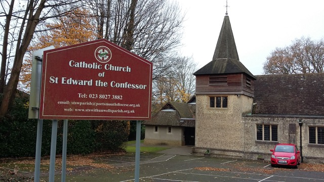 Catholic Parish of St Swithun Wells: St Edward the Confessor in Chandler's Ford.