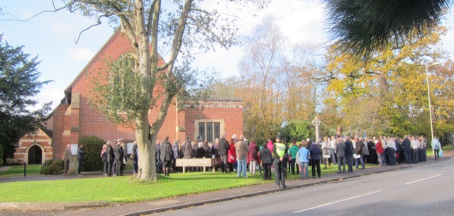 Chandler's Ford Remembrance Sunday 2017