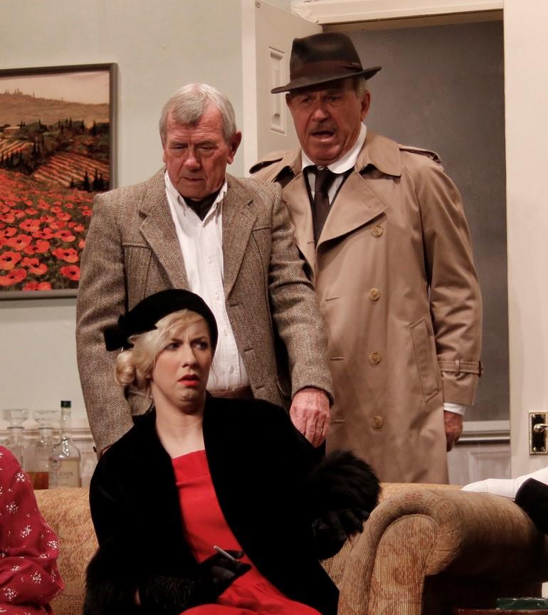 Elizabeth Hartley-Trumpington is definitely not impressed with Inspector Pratt