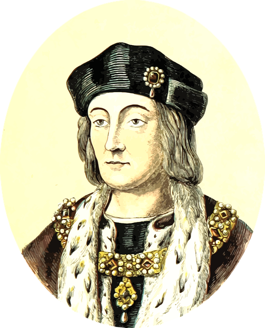Henry VII - image via Pixabay