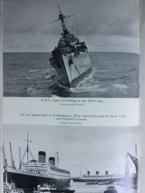 My father's command HMS Cygnet