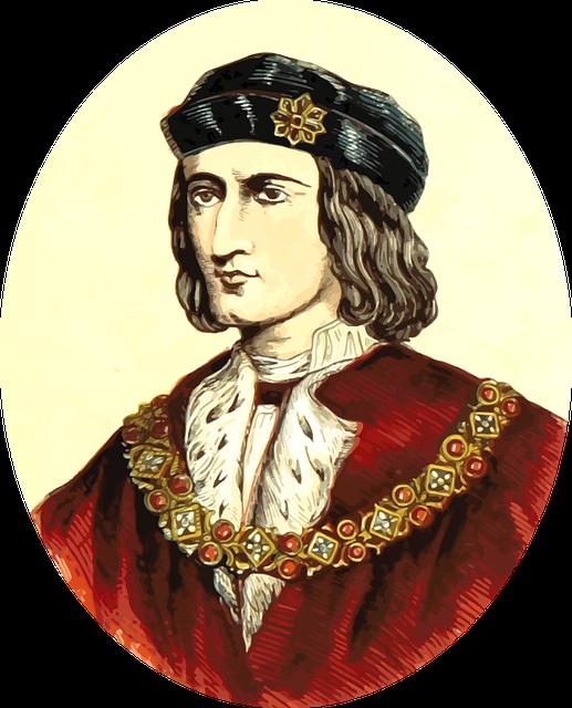Richard III - image via Pixabay