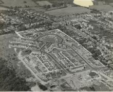 Aerial View of Velmore Estate - image from Eastleigh and District Local History Society