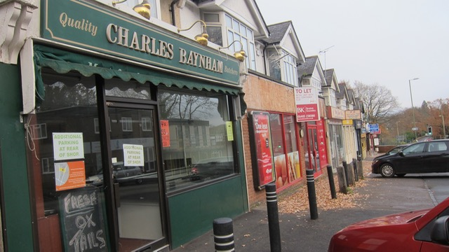 Chandler's Ford butchers: Charles Baynham
