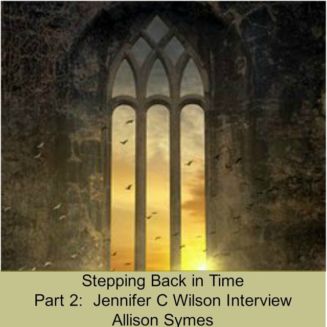 Feature Image Part 2 Jennifer C Wilson Stepping Back in Time