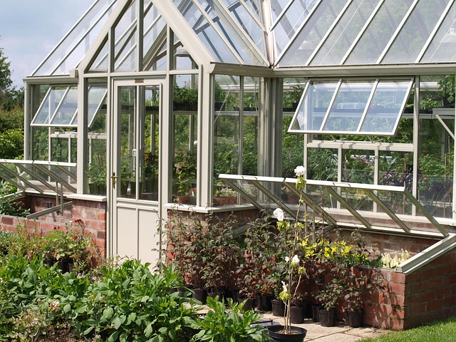 Would the washing have gone up in a greenhouse like this? Image via Pixabay
