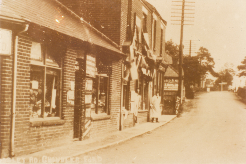 Hursley Road - image from Eastleigh and District Local History Society
