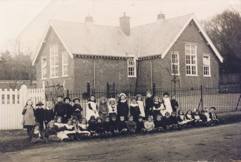 King's Road School - image from Eastleigh and District Local History Society