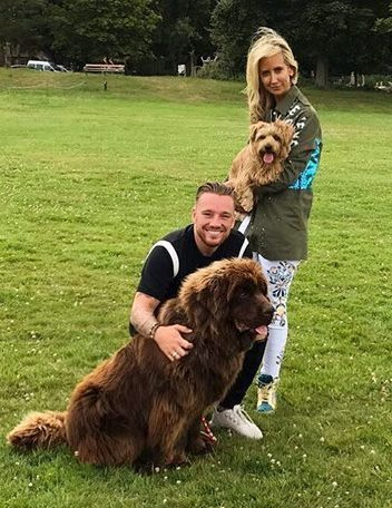 Monty with Lady Victoria and Jamie O'Hara